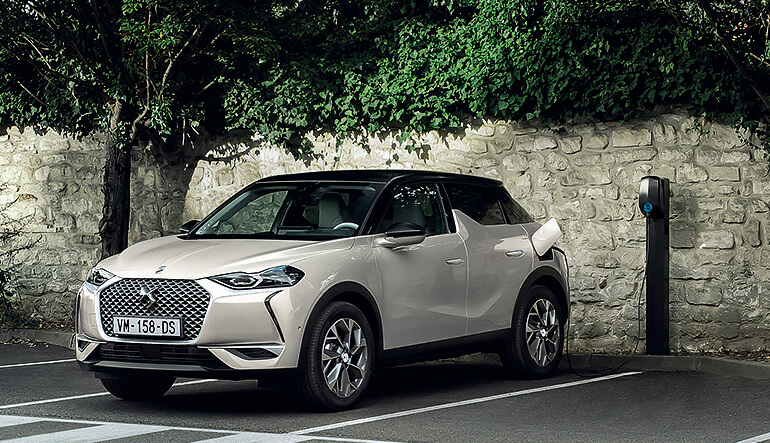 DS3 Crossback E-Tense Proefrit